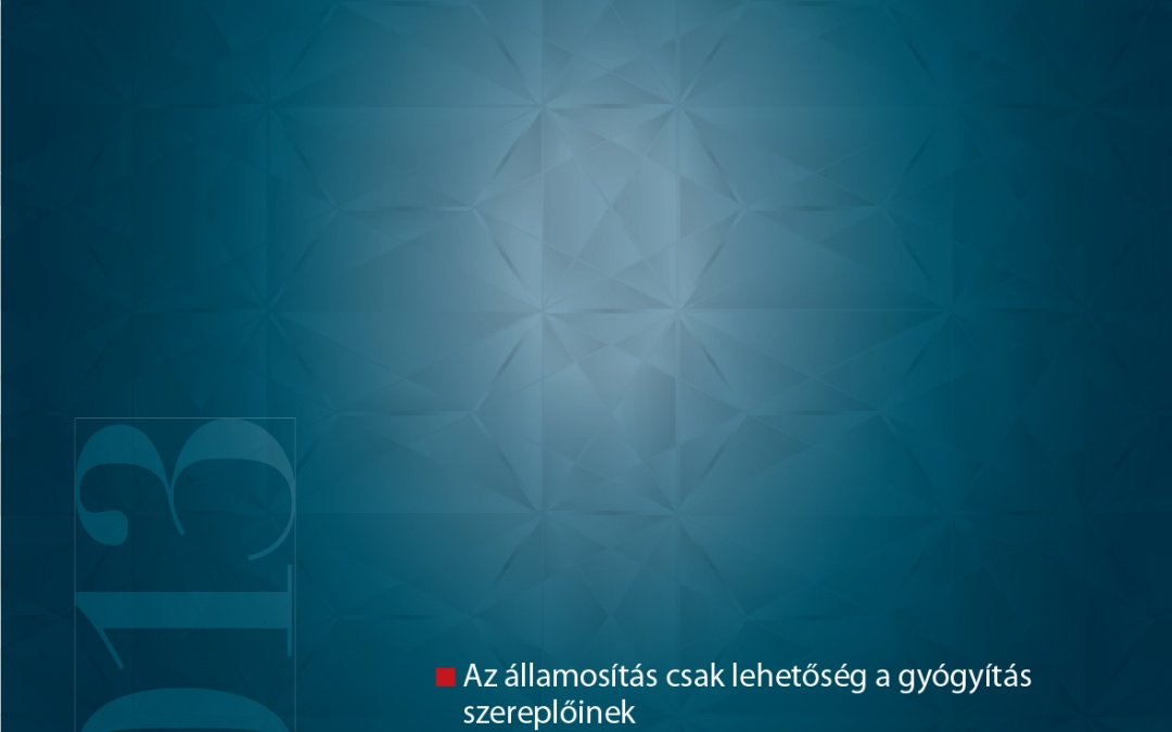 Medicina évkönyv TOP200 – 2013